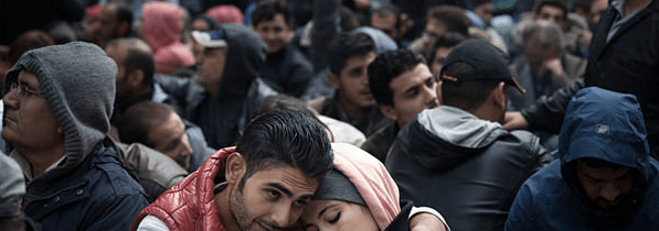Germany's Refugee Lines and Trying Times