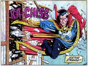 Doctor Strange as depicted in Marvel comics https://flic.kr/p/pxhENe