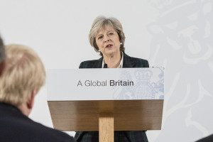 "Looking forward to how she achieves a ""Global Britain."" https://flic.kr/p/Q5ATdD"