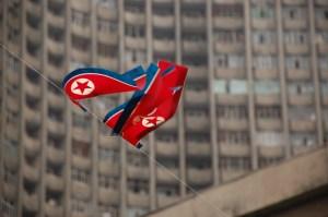 North Korean flags fly in Pyongyang https://flic.kr/p/2yHrAM