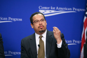Keith Ellison, DNC Deputy Chair, represents the party's progressive wing. https://flic.kr/p/9nnVdh