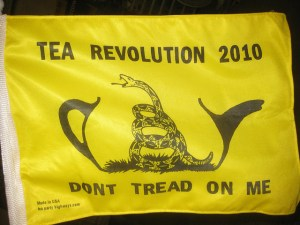 In 2009 and 2010, the right wing Tea Party movement quickly gained traction. https://flic.kr/p/8RfLJ6