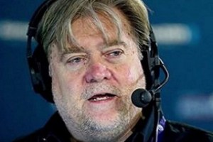 Steve Bannon, Donald Trump's chief strategist and former executive of Breitbart. https://flic.kr/p/R2gAAf