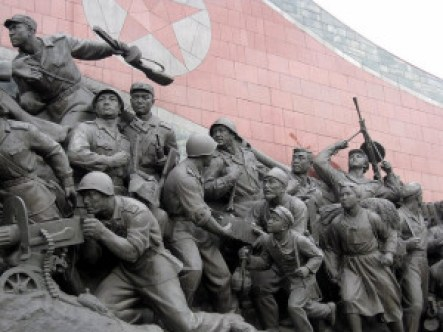 1954 Memorial Statue in North Korea. https://flic.kr/p/aoniJv