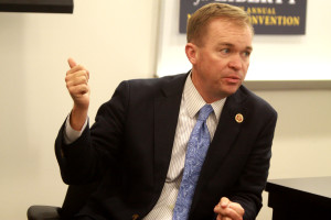 Director of the Office of Management and Budget, Mick Mulvaney