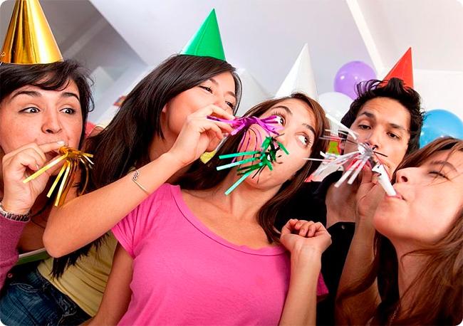 pesta yang menyenangkan.