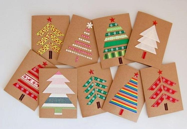 Vánoční přání z dekorativní skotské