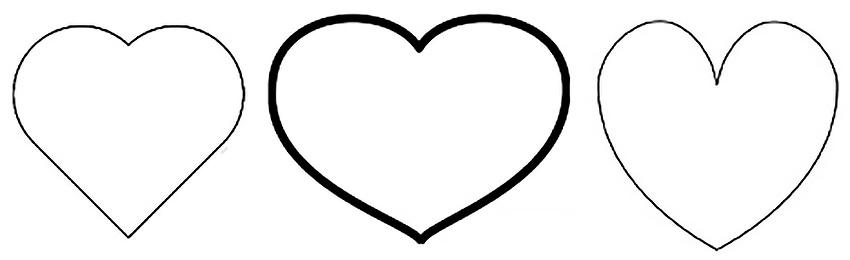 Hjerteskabelon
