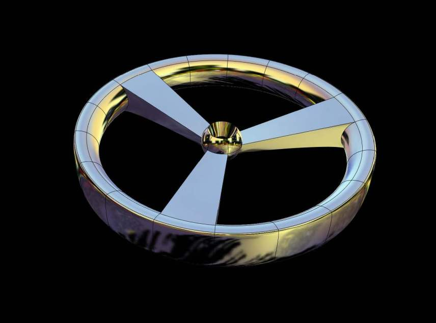 Mechanical wheel .3dm - .igs