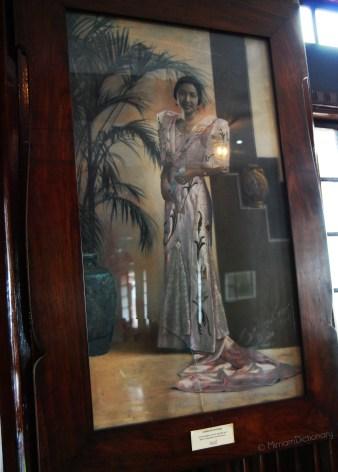 Corazon Apacible, the granddaughter of Leon Apacible