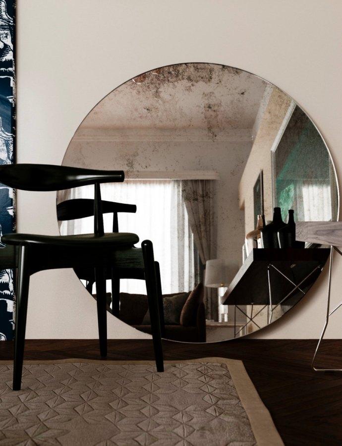 Replica 1930s Wall Mirror