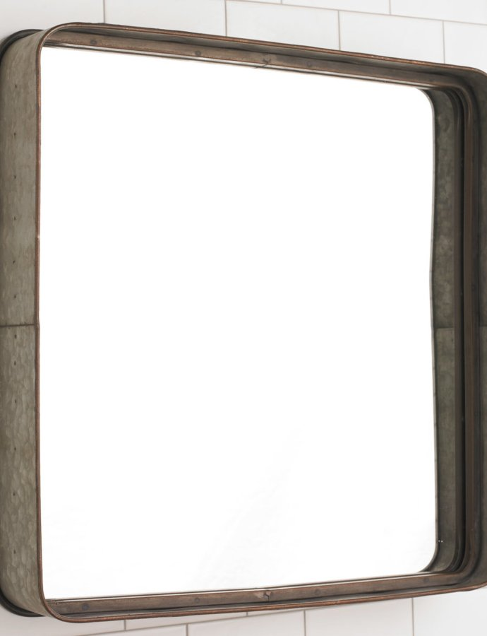 Brushed Nickel Bathroom Mirror [November 2019]