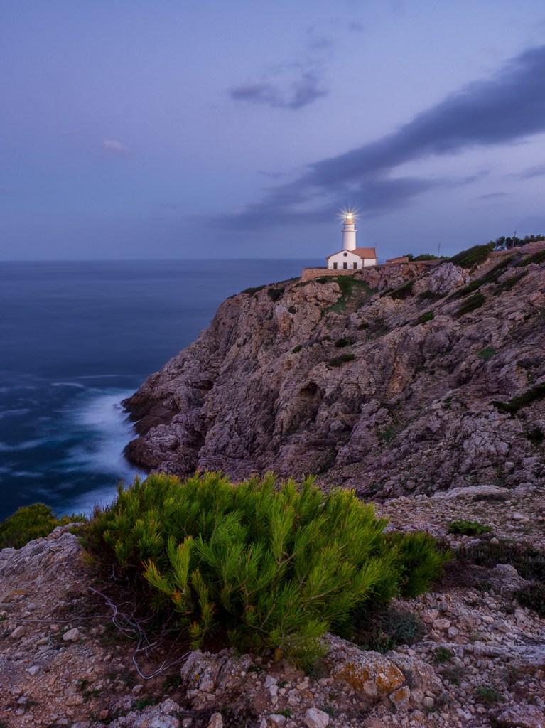 Der Leuchtturm von Capdapera auf Mallorca