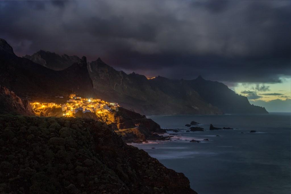 Foto von Taganana im Anaga-Gebirge auf Teneriffa.