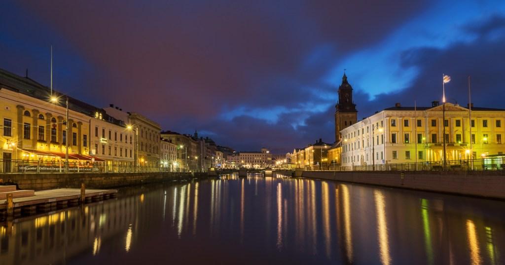 Kanal in Göteborg