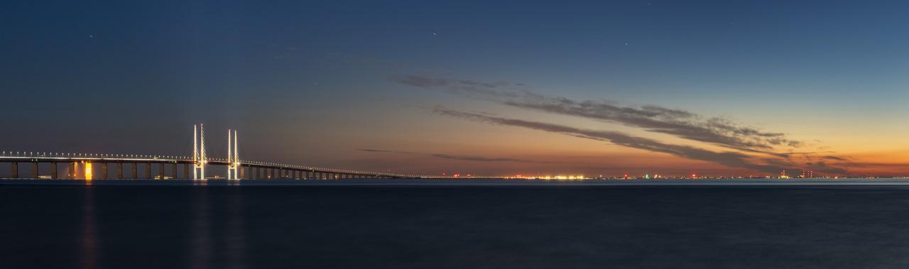 Öresund Brücke in Malmö