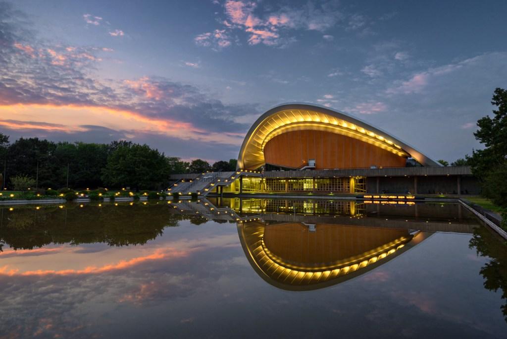 Das Haus der Kulturen der Welt in Berlin