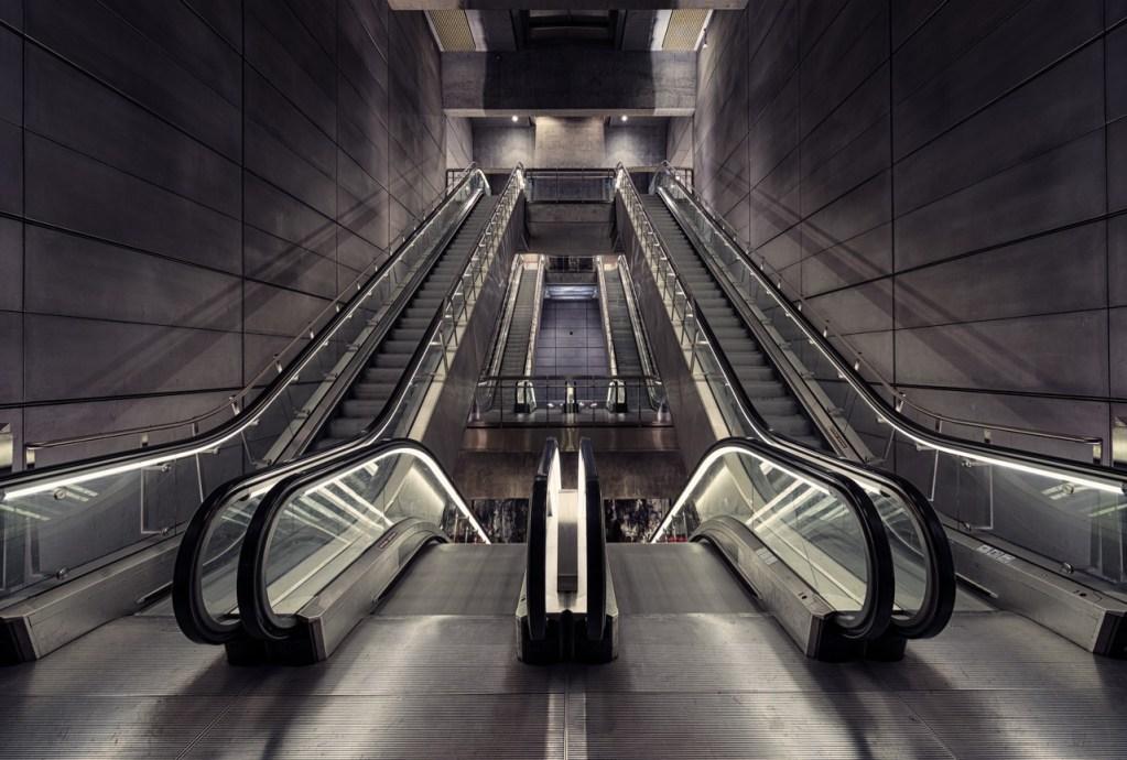 Die Norreport U-Bahnstation in Kopenhagen
