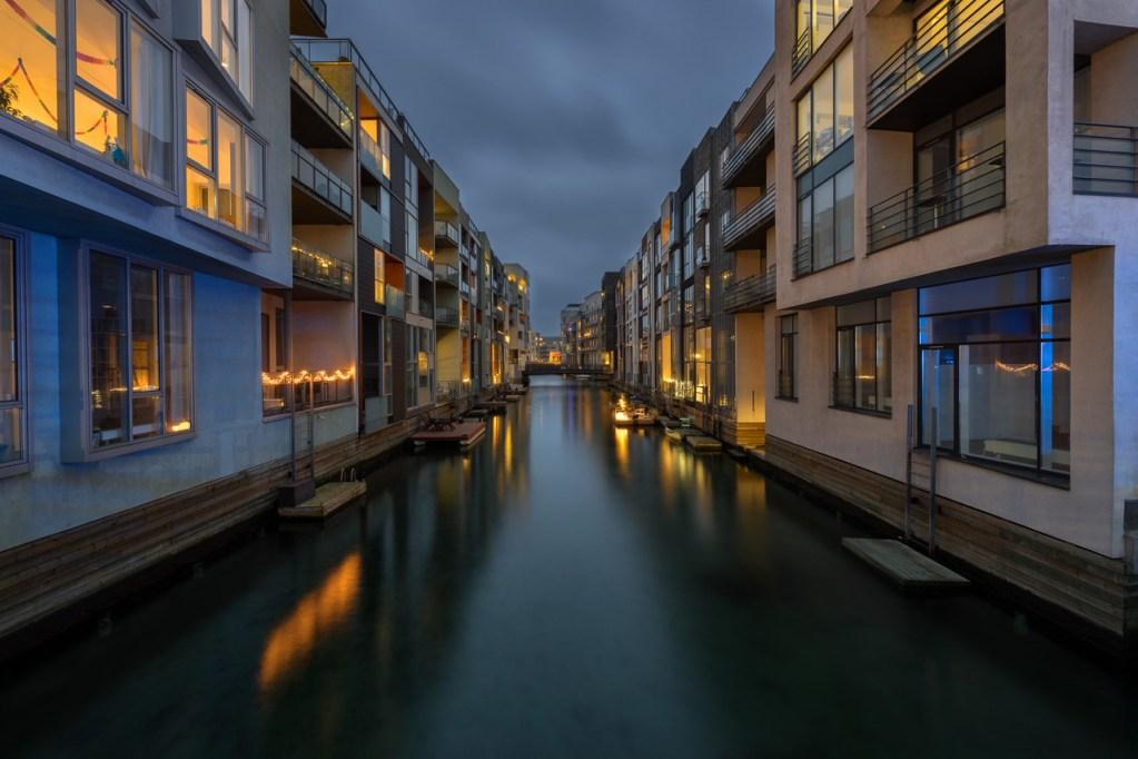 Sydhavn Kanäle in Kopenhagen