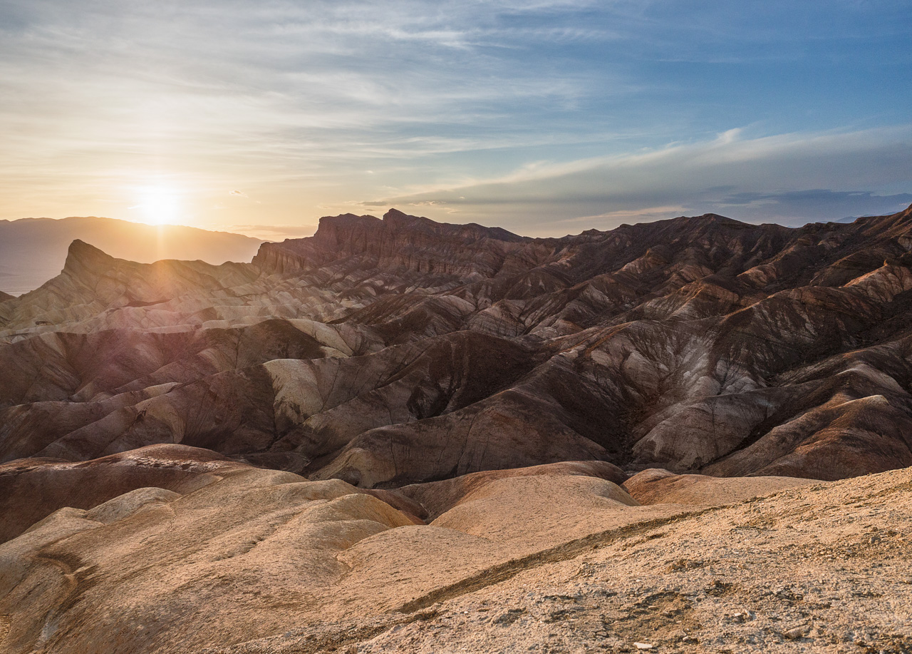 Zabriskie Point im Death Valley