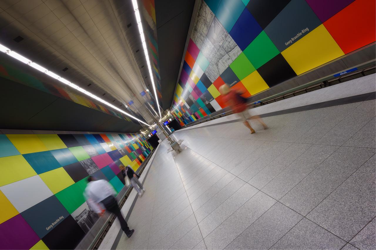 U-Bahnhof Georg Brauchle Ring in München