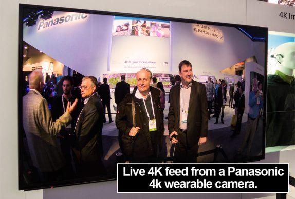 4K wearable camera