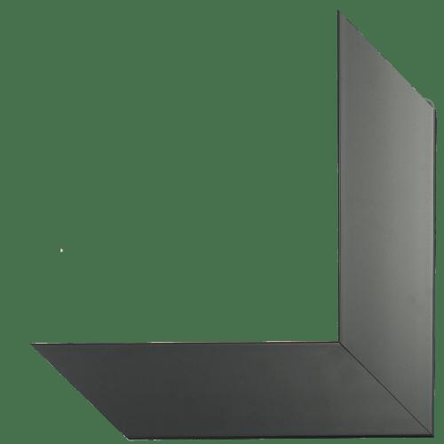 5006 Satin Black Mirror Frame