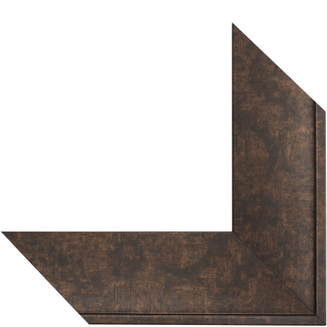5011 Rubbed Bronze Mirror Frame