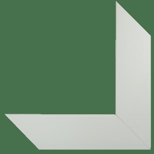 5008 White Cotton Mirror Frame