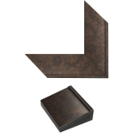 Rubbed Bronze Mirror Frame Samples