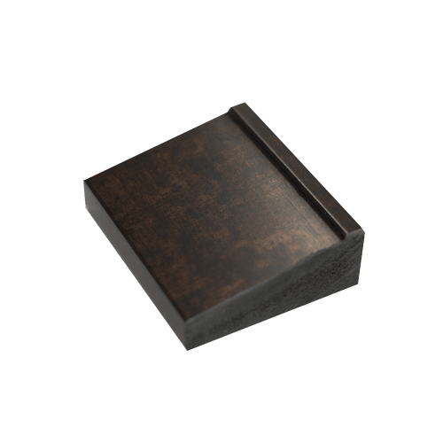 rubbed bronze chip sample