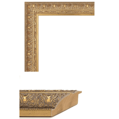 1408 Gold Mirror Frame Sample