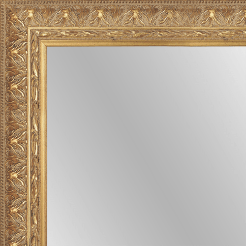 1408 Gold Framed Mirror