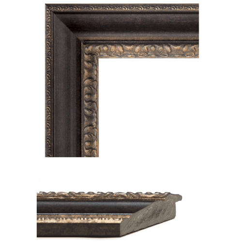1600 Bronze Mirror Frame Sample