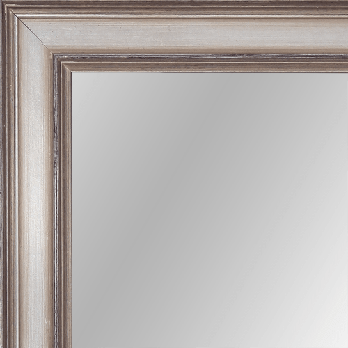 2376 Antique Champagne Framed Mirror