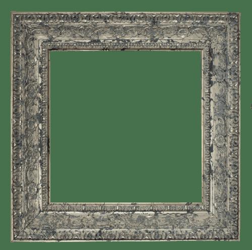 Belgian Silver Mirror Frame