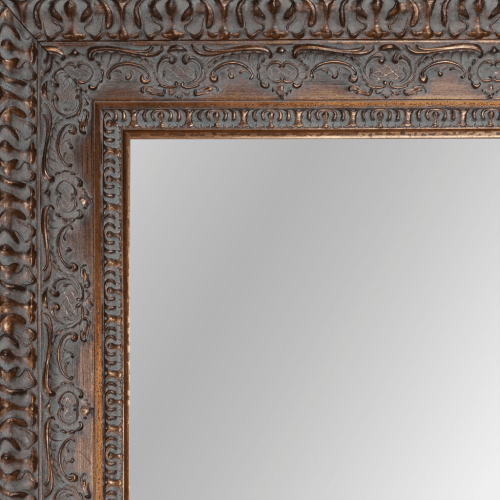 2439 Dark Gold Framed Mirror