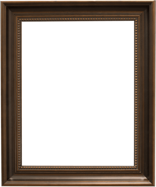 dark bronze mirror frame
