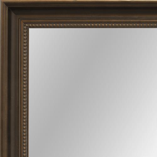 2447 Dark Bronze Framed Mirror