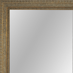 4019 Aged Dark Gold Framed Mirror
