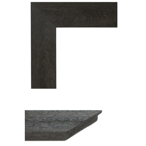 4022 Flat Dark Brown Mirror Frame Sample