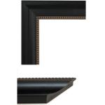 4031 Black Beading Mirror Frame Sample