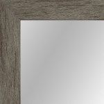 4033 Grey Mirror Frame