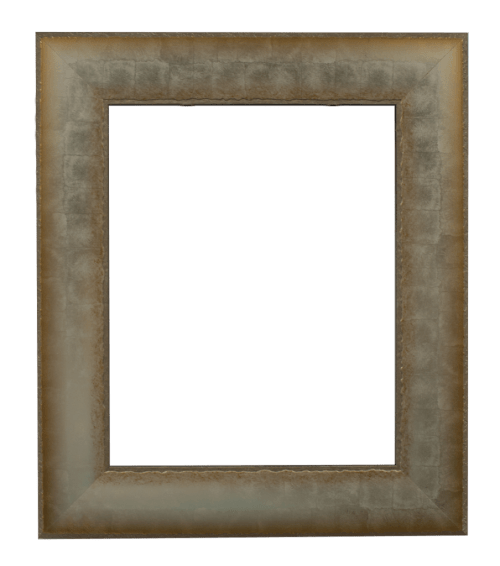 silver embossed mirror frame