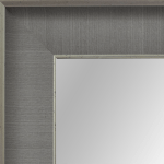 4042 Grey Linen Framed Mirror