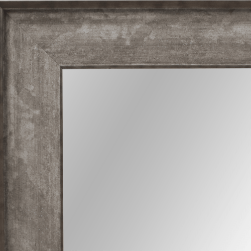 4043 Silver Wash Framed Mirror