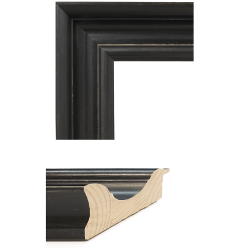 4048 Wide Brack Mirror Frame Sample