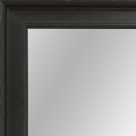 4080 Black Framed Mirror