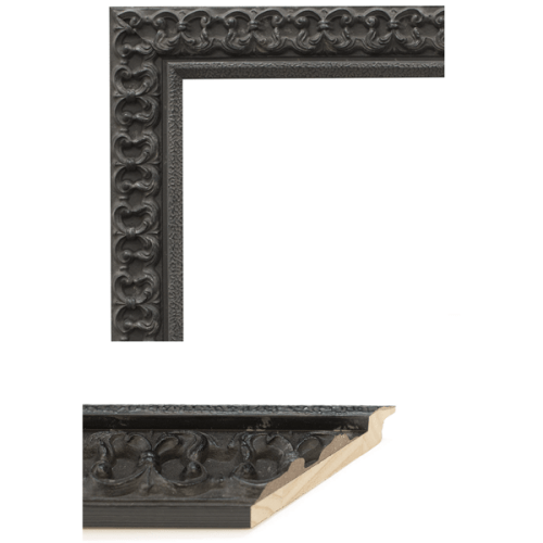 4102 Black Mirror Frame Sample