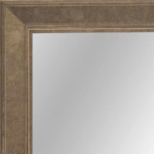 4108 Light Bronze Flat Framed Mirror